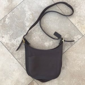 Coach Hobo Small Ergo Brown Leather Shoulder Bag